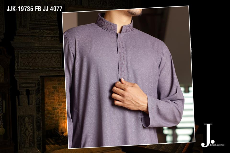 Junaid Jamshed Latest Men Kurta Summer Collection 2014-2015 (1)