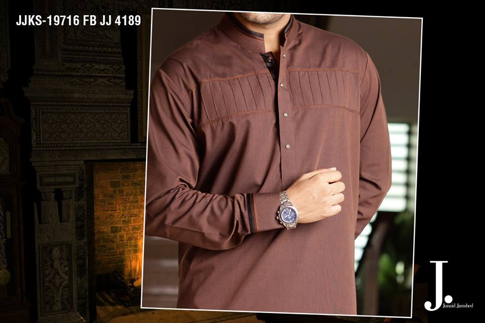 Junaid Jamshed Latest Men Kurta Summer Collection 2014-2015 (2)