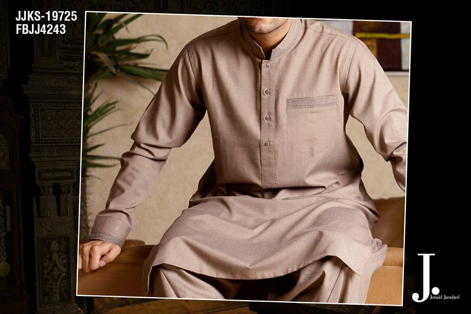 Junaid Jamshed Latest Men Kurta Summer Collection 2014-2015 (3)