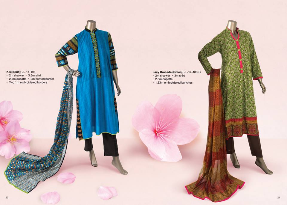 Junaid Jamshed Summer Lawn Dresses Collection for women 2014-2015 (3)
