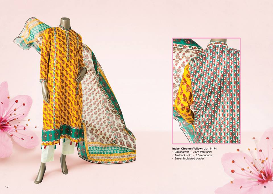 Junaid Jamshed Summer Lawn Dresses Collection for women 2014-2015 (4)
