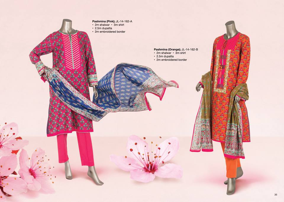 Junaid Jamshed Summer Lawn Dresses Collection for women 2014-2015 (5)