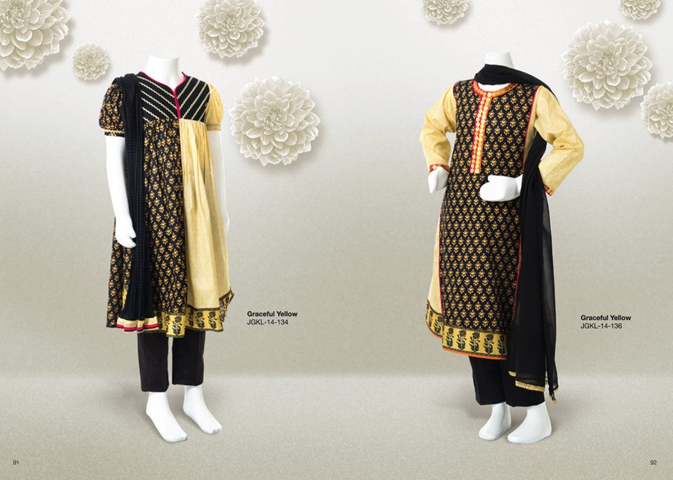 Junaid Jamshed Summer Lawn Kids Wear Collection 2014-2015 (4)