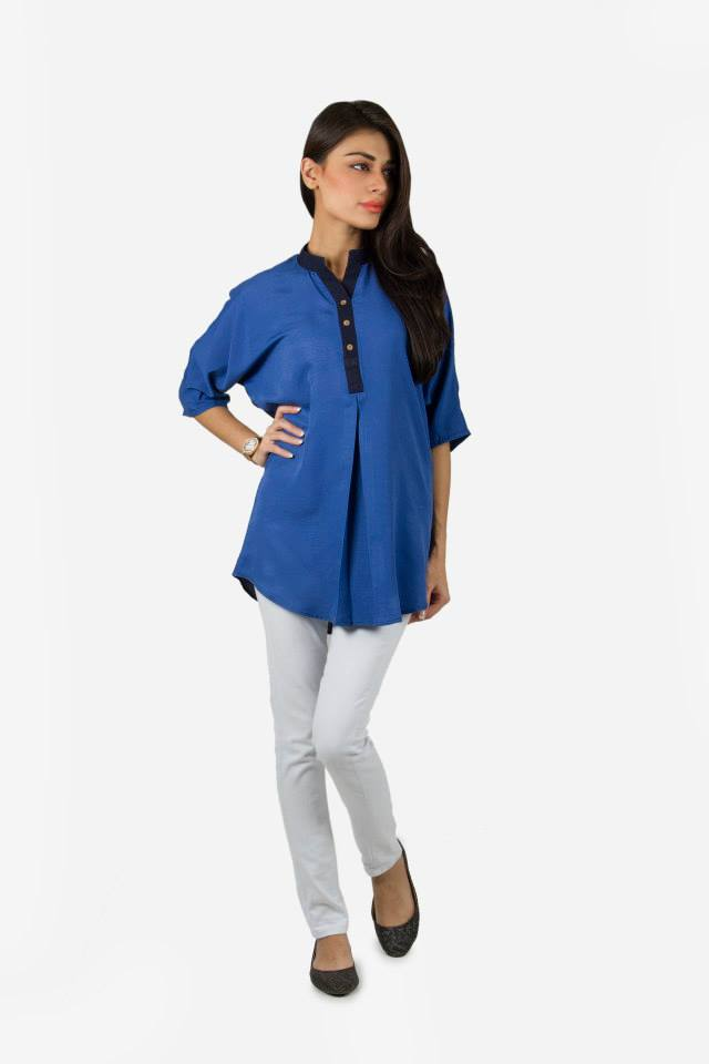 Kaadi Spring Summer women Pret Collection 2014-2015 - Jeans & Tops Collection  (3)