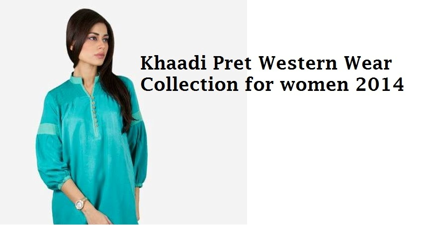 Kaadi Spring Summer women Pret Collection 2014-2015 – Jeans & Tops series