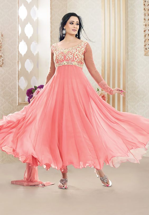 Latest Asian Umbrella Style Dresses & Frocks Designs (12)