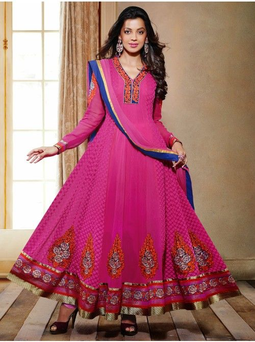 Latest Asian Umbrella Style Dresses & Frocks Designs (19)