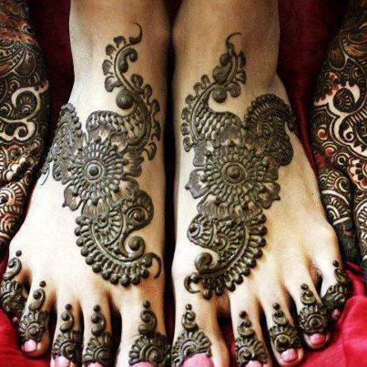 Latest Best and Beautiful mehndi designs for hands-feet for women 2014-2015 (13)