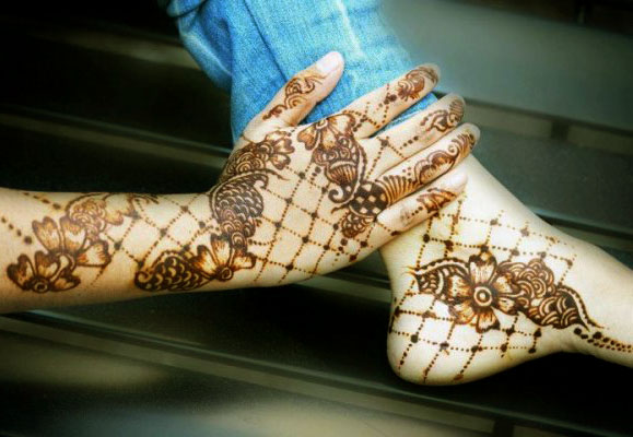 Latest Best and Beautiful mehndi designs for hands-feet for women 2014-2015 (14)