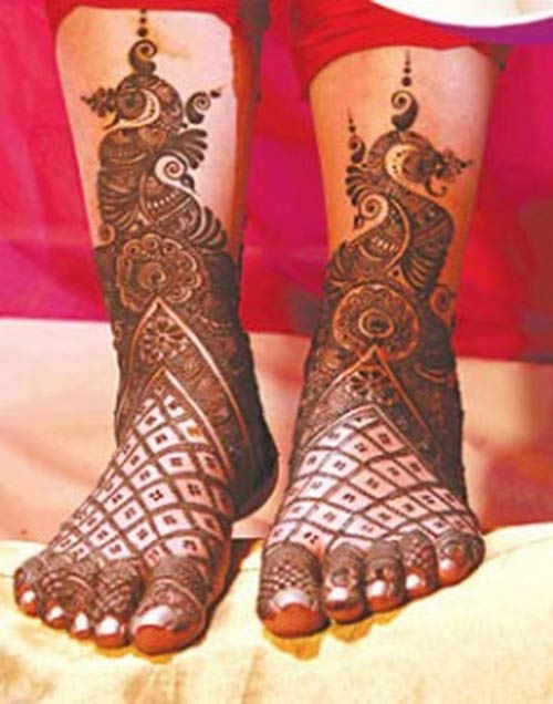 Latest Best and Beautiful mehndi designs for hands-feet for women 2014-2015 (15)