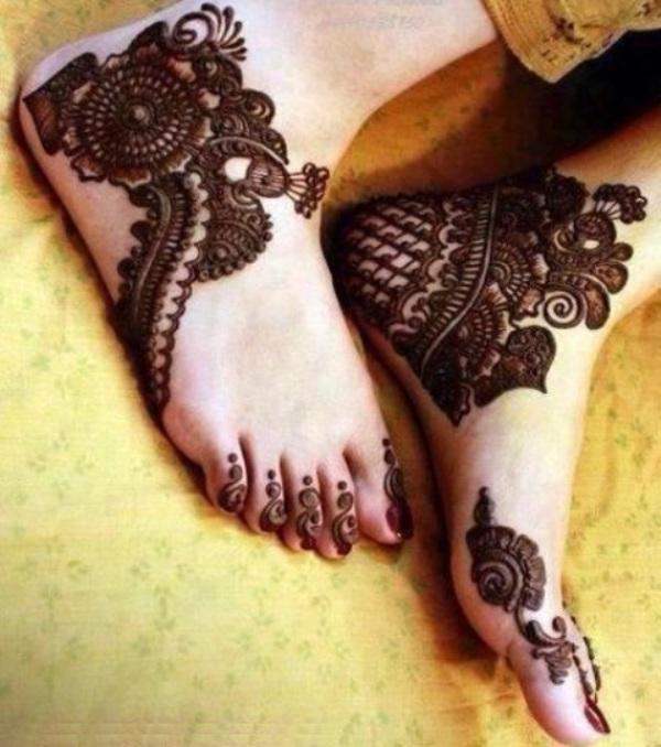 Latest Best and Beautiful mehndi designs for hands-feet for women 2014-2015 (21)