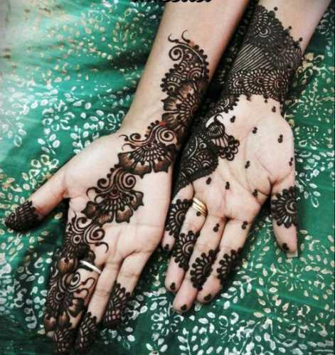 Latest Best and Beautiful mehndi designs for hands-feet for women 2014-2015 (3)