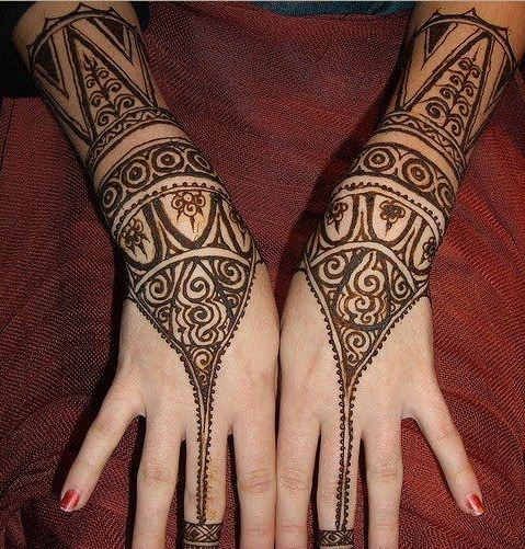Latest Best and Beautiful mehndi designs for hands-feet for women 2014-2015 (4)