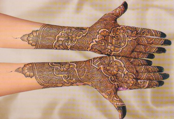 Latest Best and Beautiful mehndi designs for hands-feet for women 2014-2015 (5)