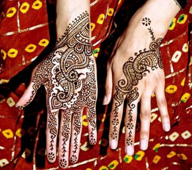 Latest Best and Beautiful mehndi designs for hands-feet for women 2014-2015 (7)