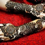 Best and Beautiful Arabic Mehndi Heena Designs For Hands and Feet