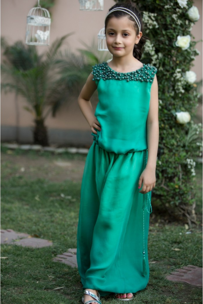 Latest Collection Maria B Fancy Kids Dresses Designs for Girls 2016-2017 (7)