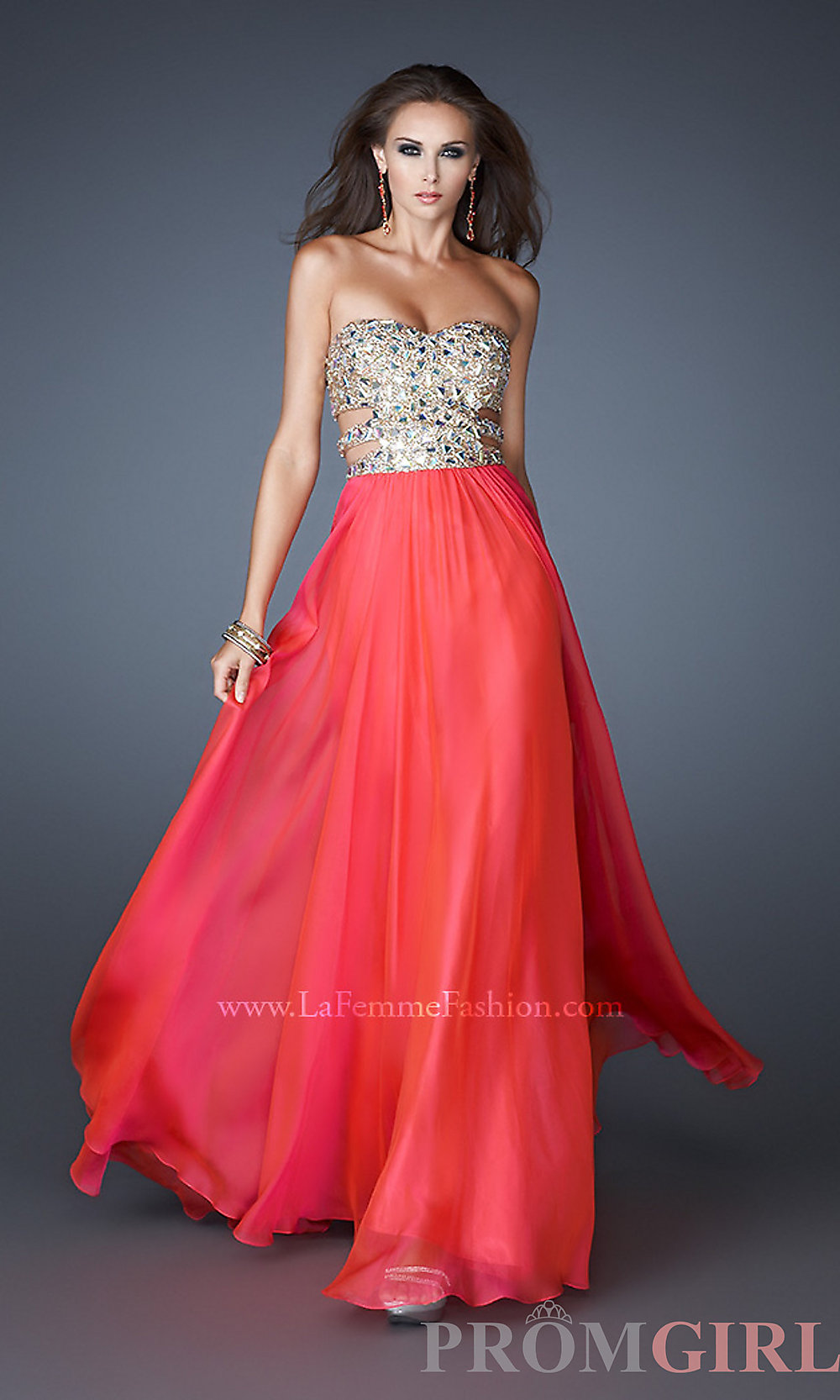Latest Fancy Gowns, Prom and Cocktail dresses for Weddings and Parties 2014-2015 (17)