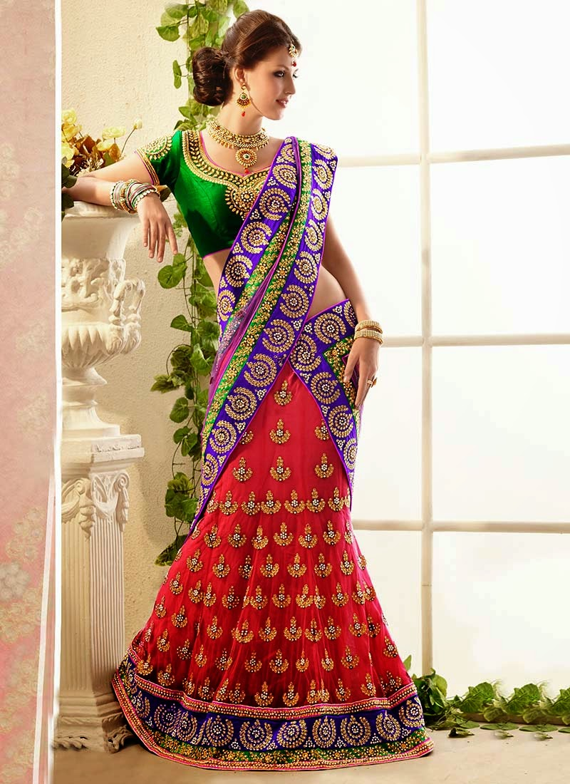 Latest Indian and Asian Designer Party wear and wedding Saree Collection for Women 2014-2015 (11)