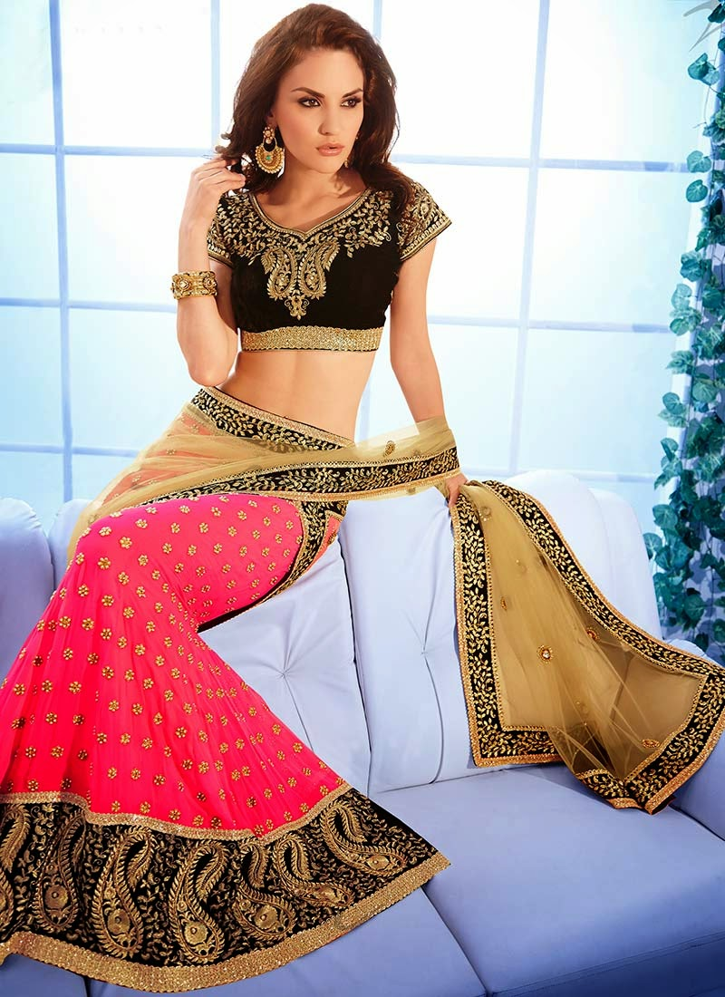 Latest Indian and Asian Designer Party wear and wedding Saree Collection for Women 2014-2015 (12)