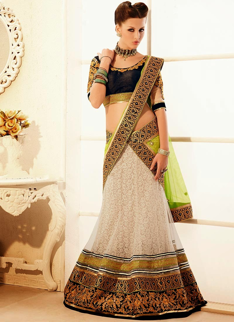 Latest Indian and Asian Designer Party wear and wedding Saree Collection for Women 2014-2015 (9)