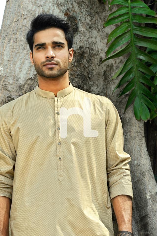 Latest Modern Men Kurta and Salwar Kameez Designs by Nishat Fabrics- Naqsh 2014-2015 (13)