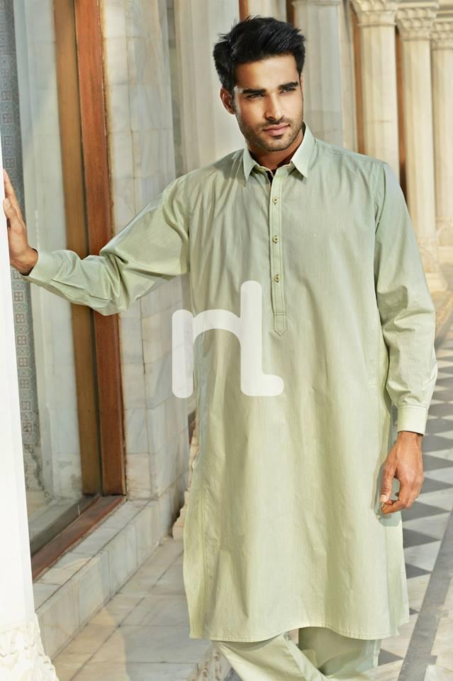 Latest Modern Men Kurta and Salwar Kameez Designs by Nishat Fabrics- Naqsh 2014-2015 (7)