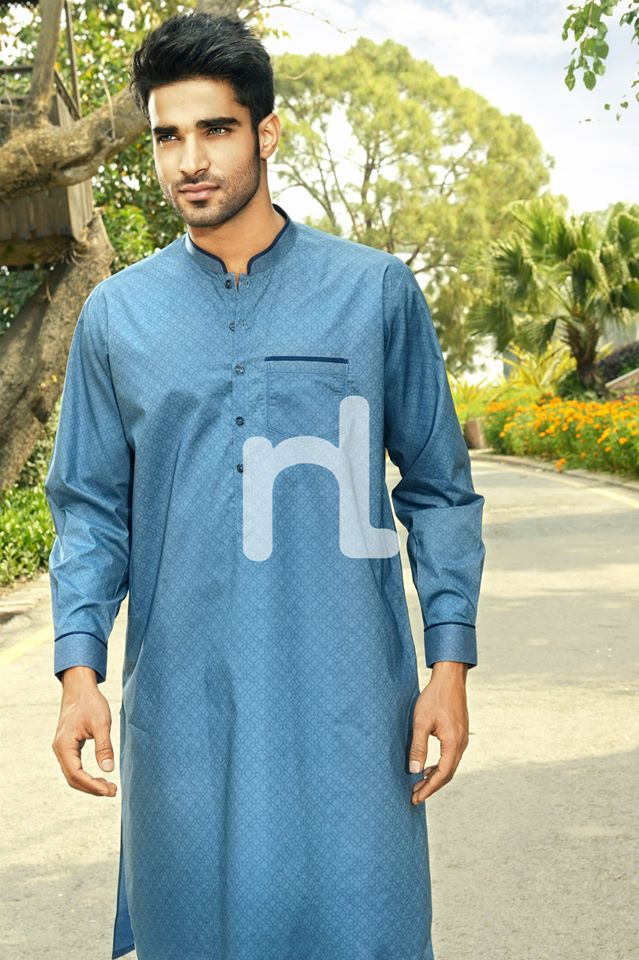Latest Modern Men Kurta and Salwar Kameez Designs by Nishat Fabrics- Naqsh 2014-2015 (8)
