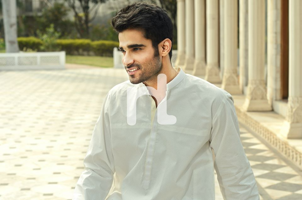 Latest Modern Men Kurta and Salwar Kameez Designs by Nishat Fabrics- Naqsh 2014-2015 (9)