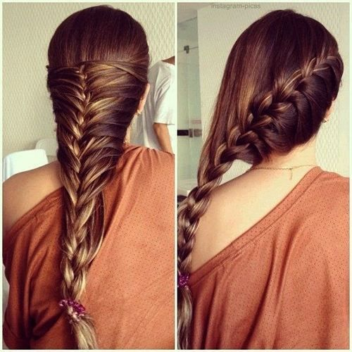 Latest Party wear Braided Hairstyles for women 2014-2015 (2)