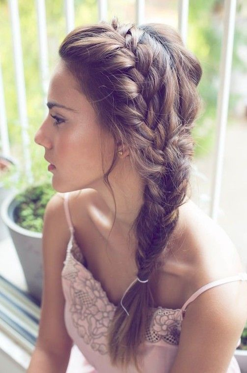 Latest Party wear Braided Hairstyles for women 2014-2015 (3)