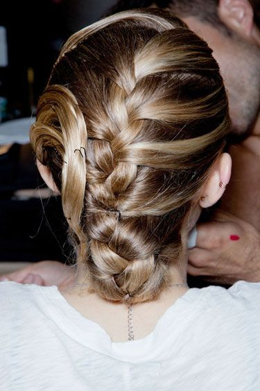 Latest Party wear Braided Hairstyles for women 2014-2015 (4)