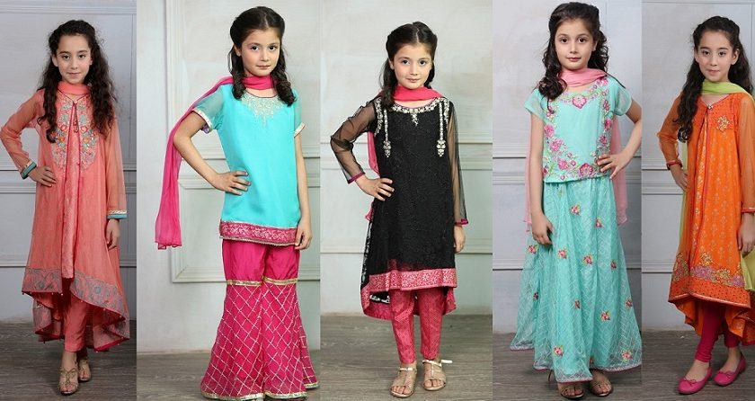 Maria B Fancy Kids Dresses Designs 2018-19 Collection for Girls 7ea881f6756