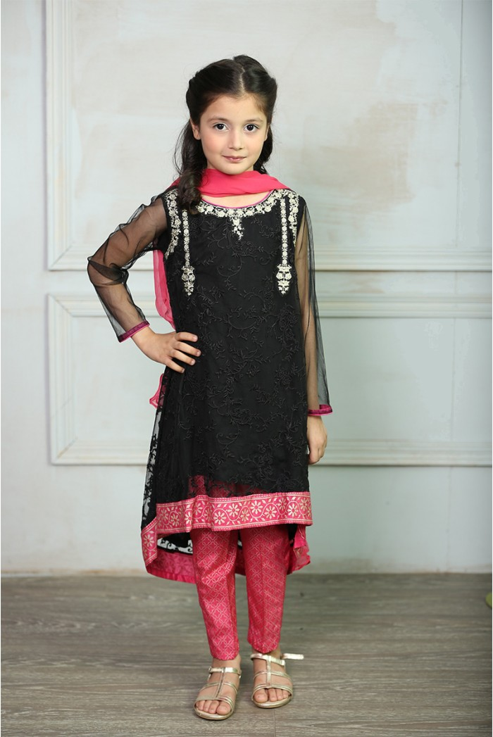 Maria B Fancy Kids Dresses Designs for Girls 2016-2017 Latest Collection (1)