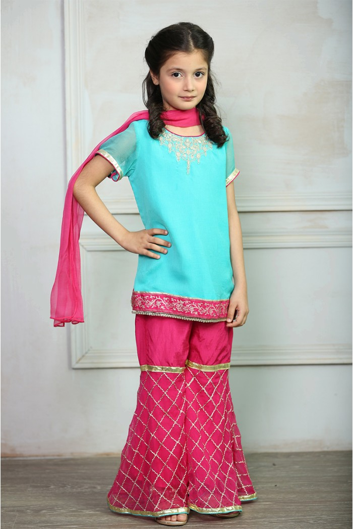 Maria B Fancy Kids Dresses Designs for Girls 2016-2017 Latest Collection (10)