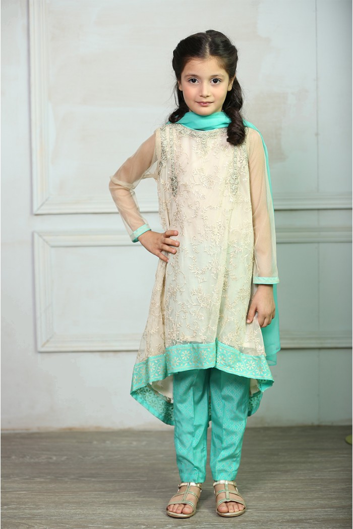 Maria B Fancy Kids Dresses Designs 2018-19 Collection for Girls