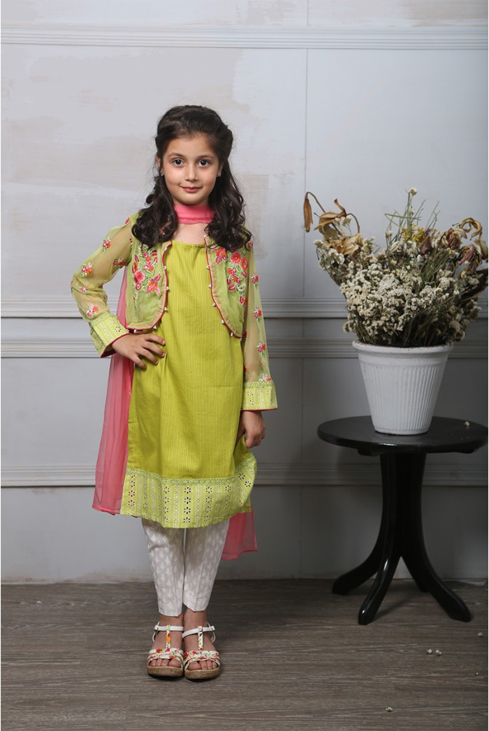 Maria B Fancy Kids Dresses Designs for Girls 2016-2017 Latest Collection (2)