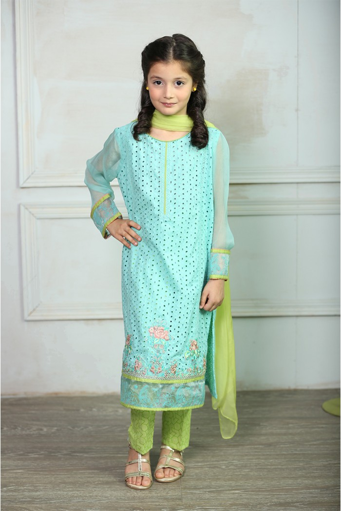 Maria B Fancy Kids Dresses Designs for Girls 2016-2017 Latest Collection (4)