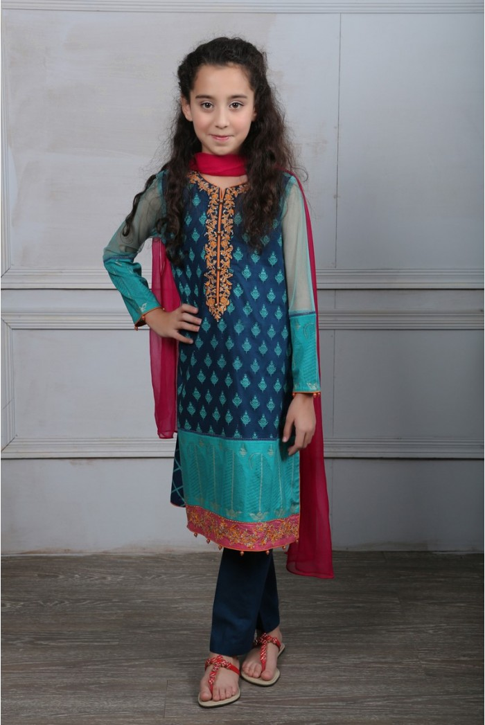 Maria B Fancy Kids Dresses Designs for Girls 2016-2017 Latest Collection (6)