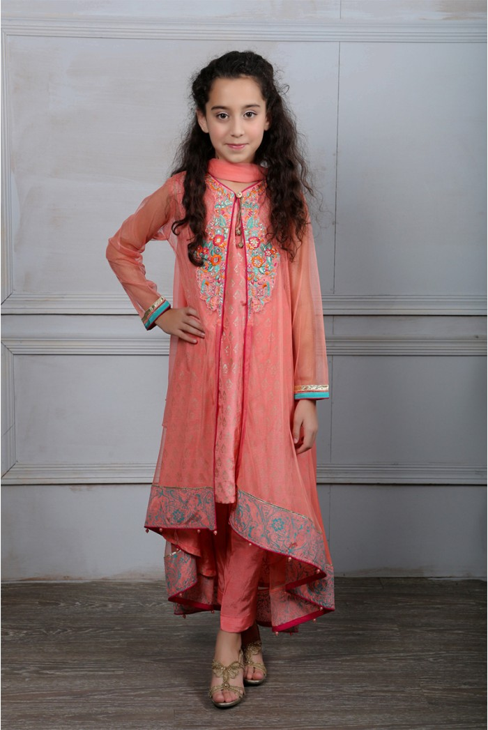 Maria B Fancy Kids Dresses Designs for Girls 2016-2017 Latest Collection (9)