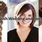 New Modern and Stylish Wedding & Party wear Hairstyles and Looks for Women