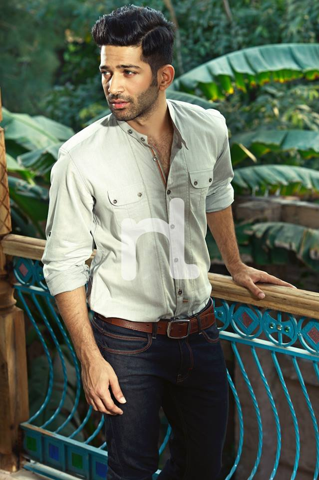 Nishat Fabrics-Naqsh Men Summer Collection 2014-2015 Men Shirts, Pants and Jeans (1)