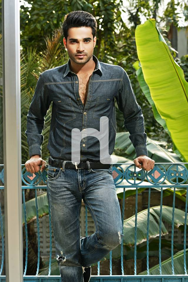 Nishat Fabrics-Naqsh Men Summer Collection 2014-2015 Men Shirts, Pants and Jeans (3)