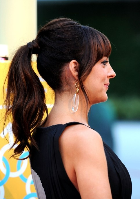 Stylish Party wear Ponytail Hairstyles for women 2014-2015 (2)