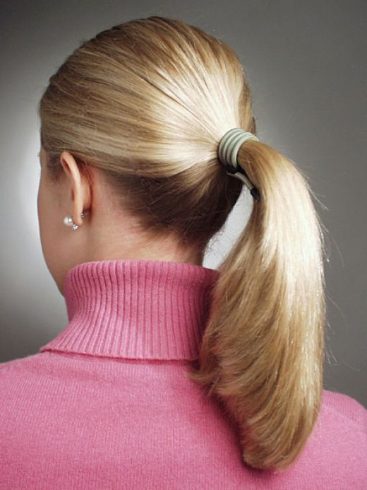 Stylish Party wear Ponytail Hairstyles for women 2014-2015 (3)