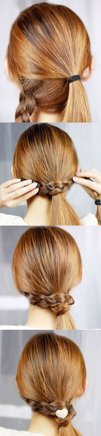 Stylish Party wear Ponytail Hairstyles for women 2014-2015 (5)