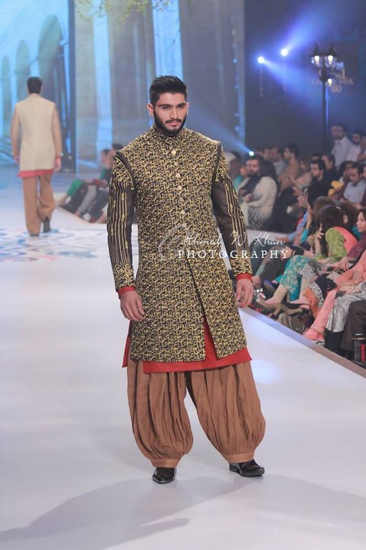 Amir Adnana Latest Men wedding Dresses Collection 2014-2015 Pantene Bridal Couture Week 2014 (1)