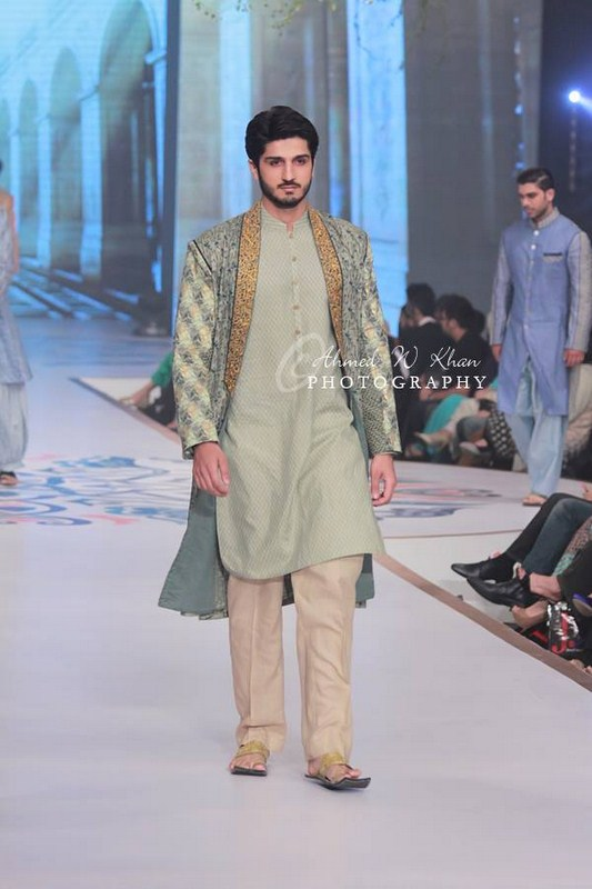 Amir Adnana Latest Men wedding Dresses Collection 2014-2015 Pantene Bridal Couture Week 2014 (2)