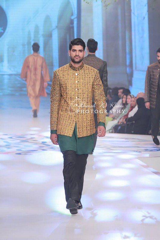 Amir Adnana Latest Men wedding Dresses Collection 2014-2015 Pantene Bridal Couture Week 2014 (3)
