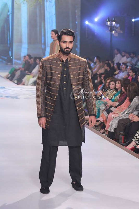 Amir Adnana Latest Men wedding Dresses Collection 2014-2015 Pantene Bridal Couture Week 2014 (4)
